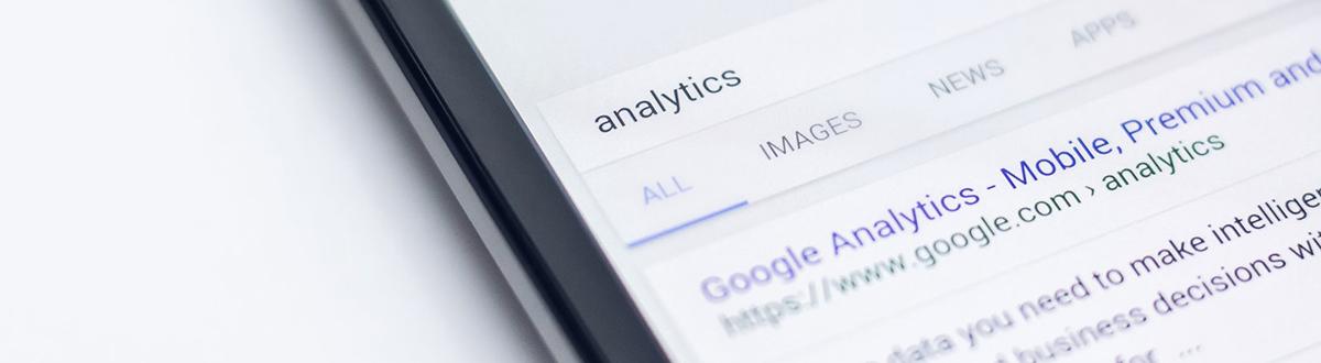 Google Analytics sökresultat