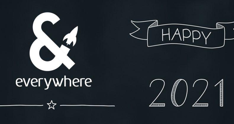 Gott nytt år banner