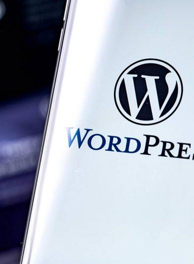 WordPress i mobiltelefon