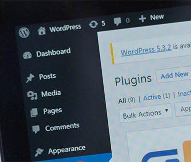 WordPress administrationspanel